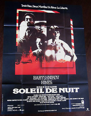 White Nights 1985 Mikhail Baryshnikov Gregory Hines Helen Mirren French Poster