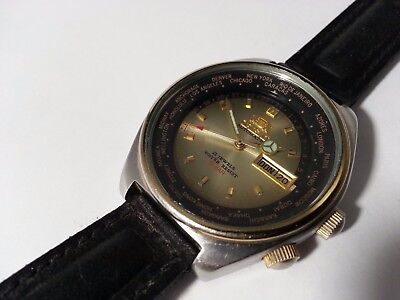 46943  Orient Welt Staedte  21 Jewels made in Japan