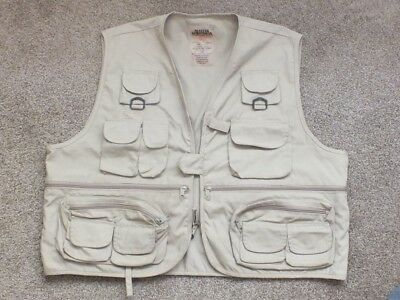 Fly Fishing Waistcoat / Wading Vest size XL in very good condition