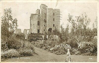 p2163 Castle Kennedy, Wigtownshire, Scotland postcard