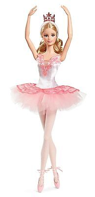 Ballet Wishes Barbie Doll Collector Pink Label Ballerina New