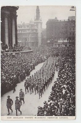 New Zealand Troops Marching Through London