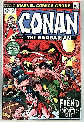 Conan The Barbarian #40-1974 fn- Steve Ditko Rich Buckler
