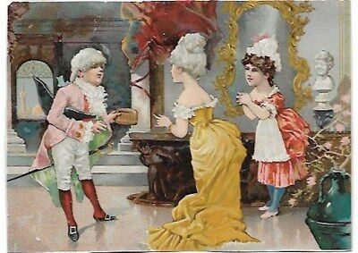 Vintage B.T Babbit's 1776 Soap Powder Victorian Trade Card.