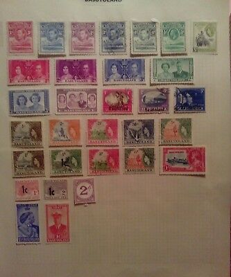 Stamps Used Mm Basutoland