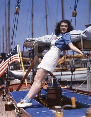 Ann Rutherford 8x10-24x36 Photo Poster Canvas GICLEE PRINT by John Florea FL152