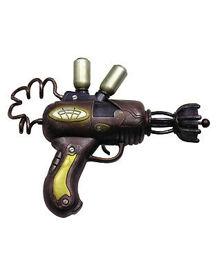 Steampunk Space Gun Toy Victorian Fantasy Industrial Weapon