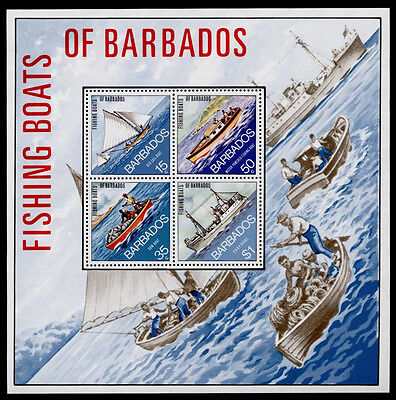 Barbados 395a MNH Fishing Boats