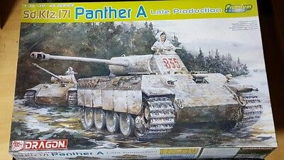 DRAGON 1:35; Panther Ausf A  Premium Edition