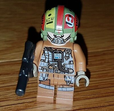 Lego Star Wars Mini Figure Resistance Bombardier From 75188 Resistance Bomber