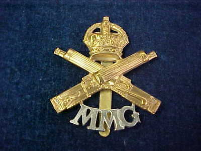 "Orig WW1 Cap Badge ""MMG"" Motor Machine Gun Corps"