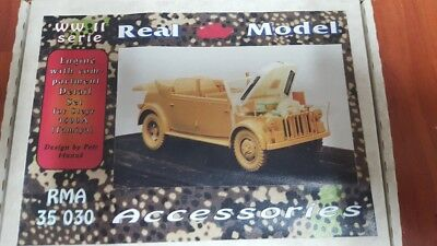 REAL models 1:35; conversion , engine set  Steyr 1500 für (Tamiya)