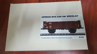 IRONSIDE 057 1:35;  german boxed car OM Breslau, offener Güterwagen