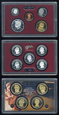2010 United States Mint SILVER Proof Set San Francisco w/Mint Packaging & COA