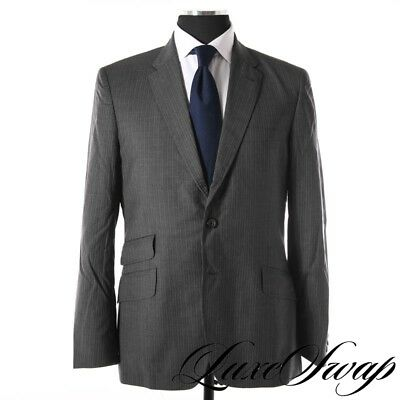 Paul Smith London Made in Italy The Abbey Grey Multi Stripe MODERN 2pc Suit 42