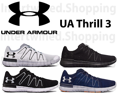 meet 0acf9 2dbea UNDER ARMOUR THRILL 3 UA 1295736 Men's Running Mesh Micro-G Athletic Shoes  7-16