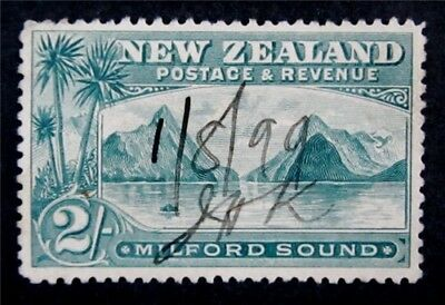 nystamps British New Zealand Stamp # 82 Used $160