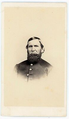 CDV Identified Civil War Soldier,1st New Hampshire H A  John Denison Quart Sgt.