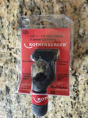 "Rothenberger 1/8""-1-1/8"" OD Capacity Telescoping Tubing Cutter"