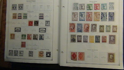 Yugoslavia stamp collection on Scott Int'l pages to '70