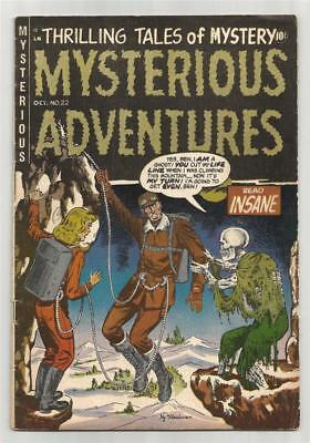 Mysterious Adventures #22, Oct. 1954