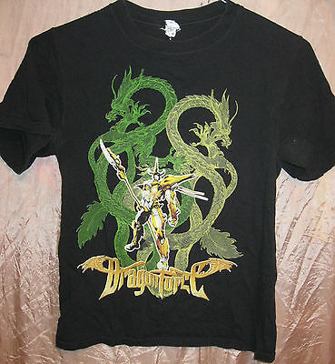 Dragonforce Authentic 2008 Ultra Beatdown Concert Tour Shirt Small Ex Cond Metal