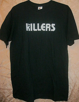 THE KILLERS AUTHENTIC 2016 CLASSIC LOGO CONCERT SHIRT XL MINT sams town hot fuss
