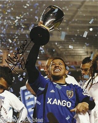 Real Salt Lake Nick Rimando Autographed Signed 8x10 Photo COA