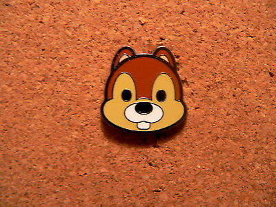 Chip Disney Pin - Mini-Pin Collection - Cute Character Faces - Version 2