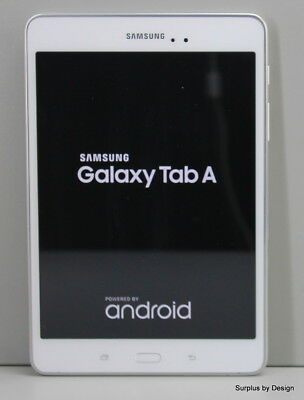 """Samsung Galaxy Tab A  8.0"""" 16 GB  SM-T350 White Android Tablet"""