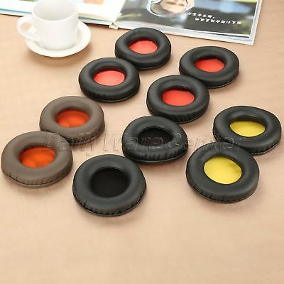 8.5×8.5cm Headset Soft Foam Replacement Earpads Cushion Ear Pads For Headphone