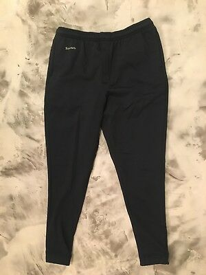 Simms Fly Fishing Sweatpants Black - Size Large