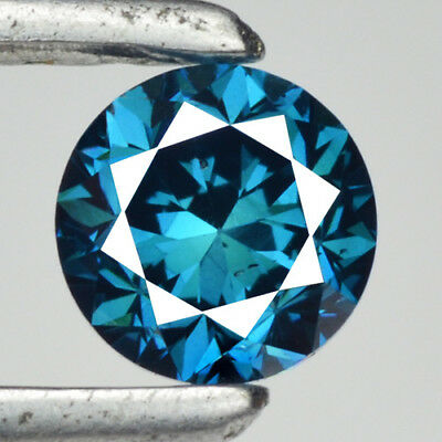0.34 Cts SPARKLING RARE TITANIC BLUE COLOR NATURAL LOOSE DIAMONDS- SI1