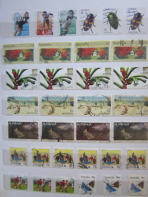 BULK LOT 32 x AUSTRALIAN HIGH VALUE STAMPS $5$2 $1,0.90,0.80,0.75  Decimals Used