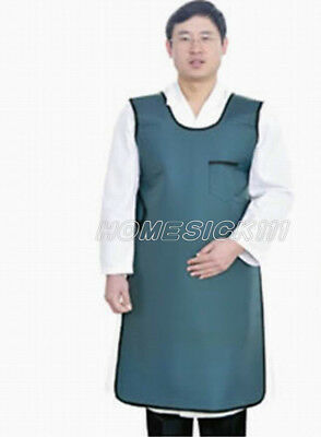 SanYi X-Ray Protective Imported Flexible Material Lead Apron Set 0.35mmpb blue M