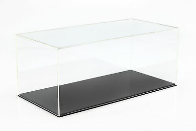 QUALITY ACRYLIC DISPLAY CABINET FOR MODEL CARS ON A Scale of 1:18 Black Safe