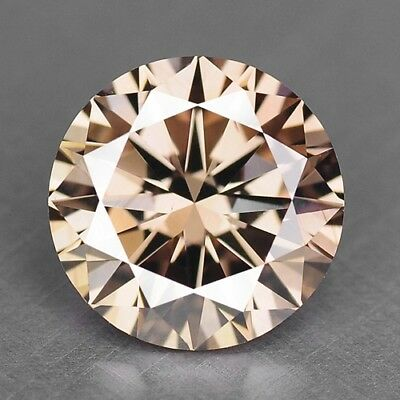 0.51 Cts UNTREATED RARE PINKISH BROWN COLOR NATURAL LOOSE DIAMONDS- VS1