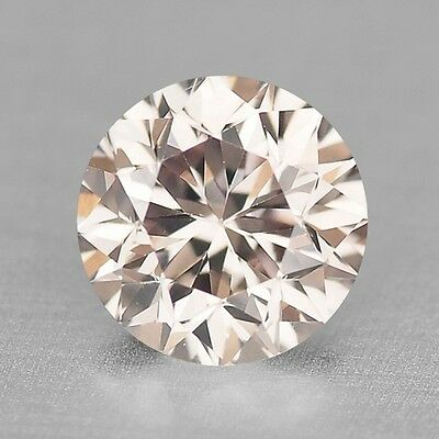 0.47 Cts EXCELLENT RARE PINKISH BROWN COLOR NATURAL LOOSE DIAMONDS VS2