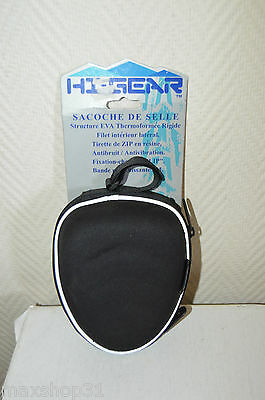 Sac De Selle Hi-Gear Velo  Neuf Saddle Bag  Bike Sacoche  Trousse Fix Clip