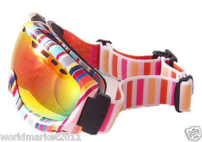 A5 Multi-colored Outdoor Resin Double-Layer Anti-Fog Professional Ski Goggles
