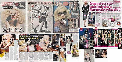 CHRISTINA AGUILERA : CUTTINGS COLLECTION -magazine articles-