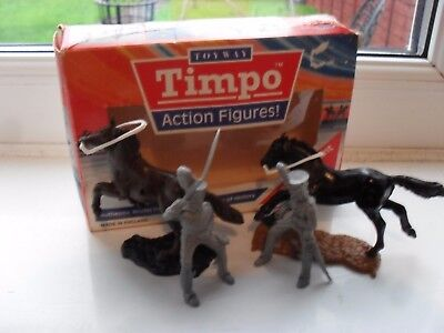 timpo boxed solid action figures,waterloo era cavalry