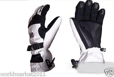 A16 Outdoor Skiing Waterproof Breathable Winter Warm Ski Gloves New L