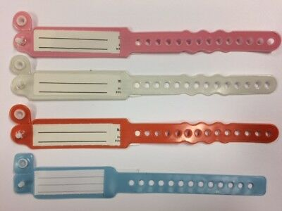 x4 Hospital ID band (choose which colours you want)