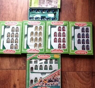 SUBBUTEO LW 6 x TEAMS ALL IN GOOD CONDITION