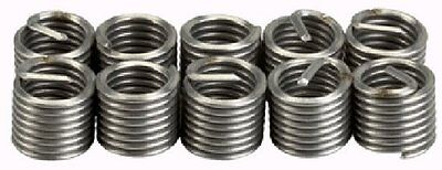 """Industrial Quality 10PCE 1/2""""-13 UNC Helicoil Type Thread Repair Inserts"""