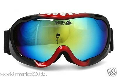 Northwolf Double-Layer Anti-Fog Snow Mountaineering Professional Ski Goggles