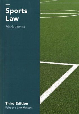 Sports Law by Mark James (Paperback, 2017)