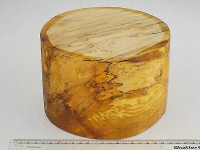 English Spalted Beech wood turning bowl blank.  180 x 120mm.  1315