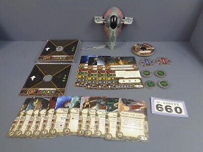 Wargaming Star Wars X Wing Clearance Slave One Firespray Lot 660